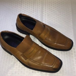 Mens 7.5 Kenneth Cole Reaction Dress Loafers